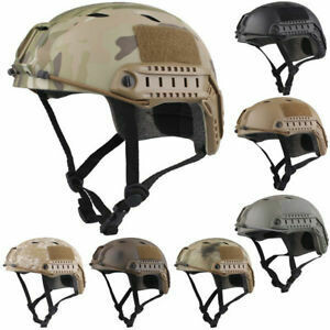 Basis Fast Jump Helmet With NVG Mount & Side Rail