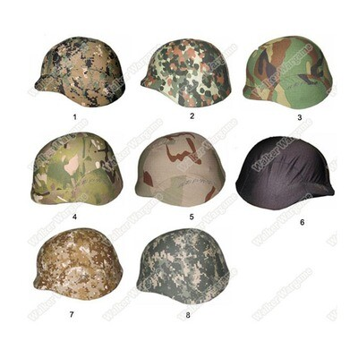 M88 PASGT Kevlar Helmet Cover - Multi Color
