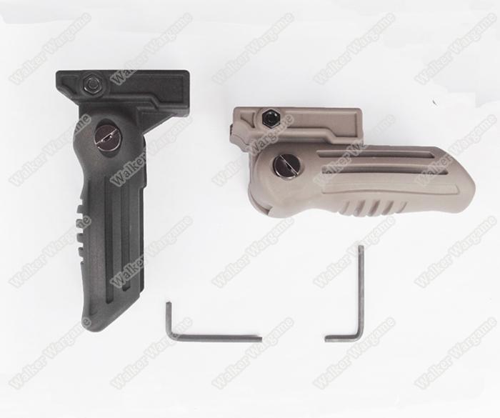 AK Tactical Foldable Foregrip Grip - Tan Black