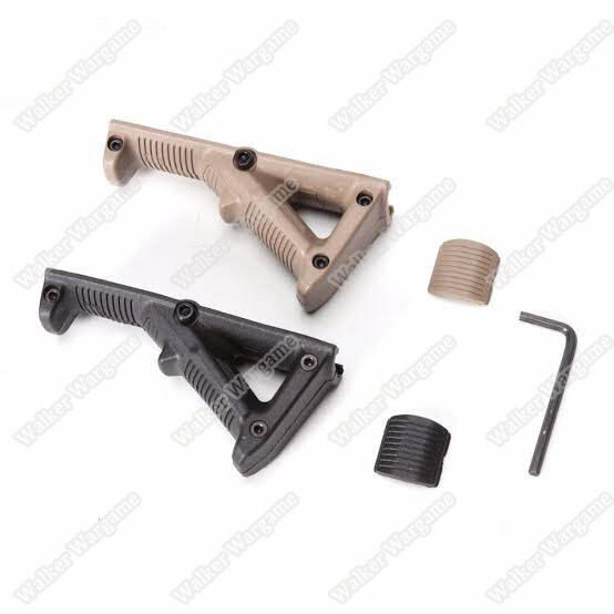 PTS AFG 2 Angled ForeGrip Grip - Black & Tan