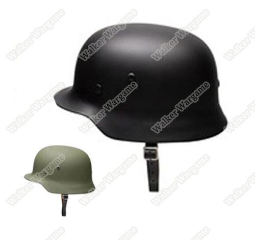 WW2 German Full Size Steel M35 Helmet
