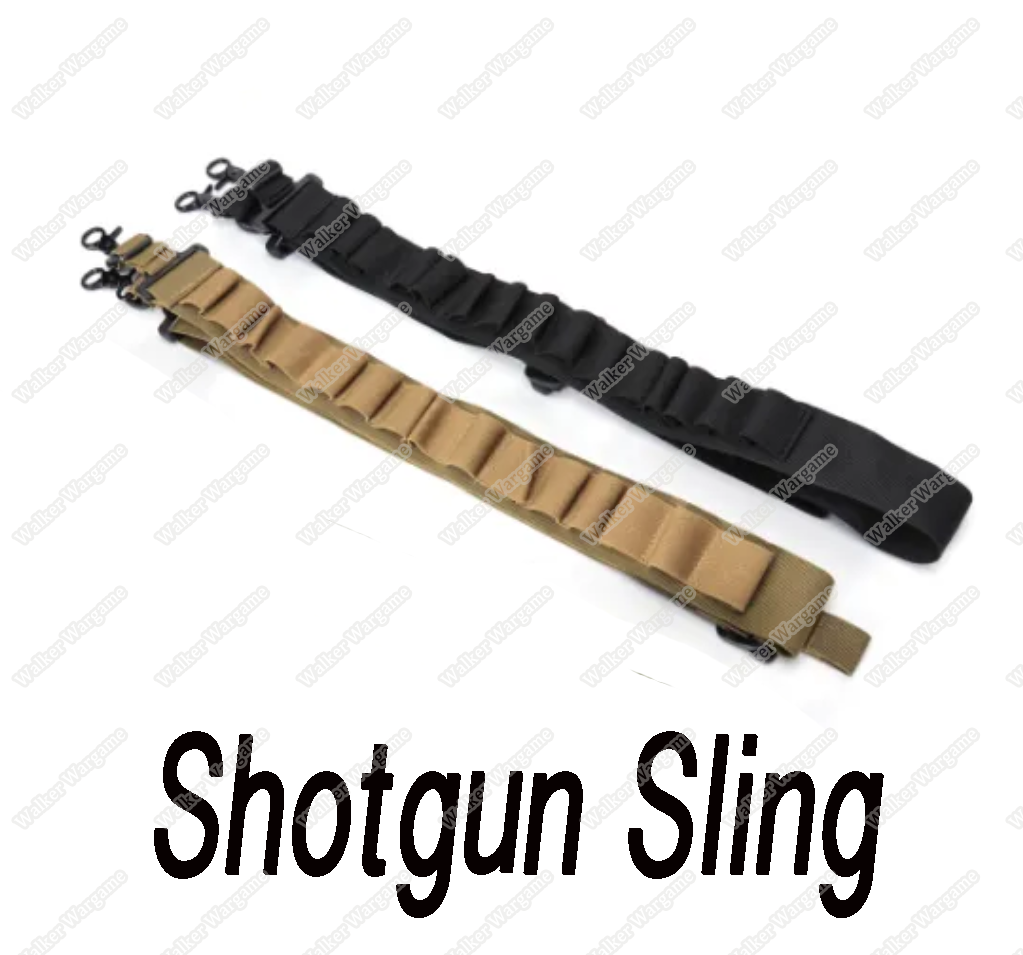 Two Point Shotgun Sling With 15 Rds Shells - (Multi Color)