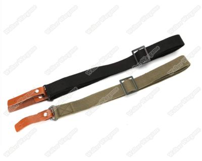 Original Leather Hook AK 2 Two Point Rifle Sling Belt - (Multi-Color)