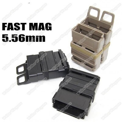 Molle FastMag Rifle Magazine Clip Holder Pouch Set