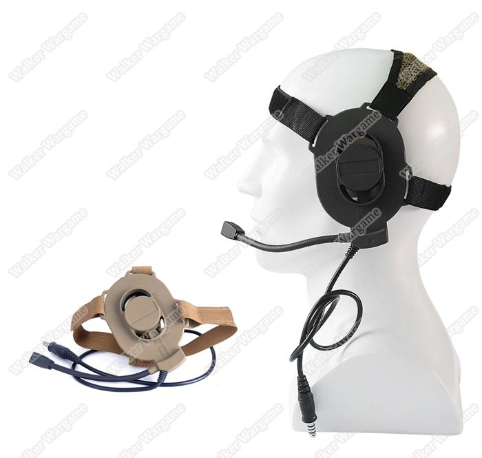 Special Forces ELITE II series headset - Tan & Black