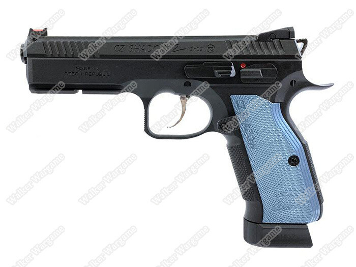 KJ Works CZ Shadow 2 Green Gas Airsoft GBB Pistol (ASG Licensed)