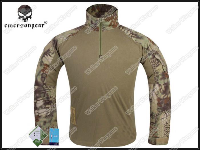 Emerson G3 Combat Shirt -  Special Force Mandrake Camo MR