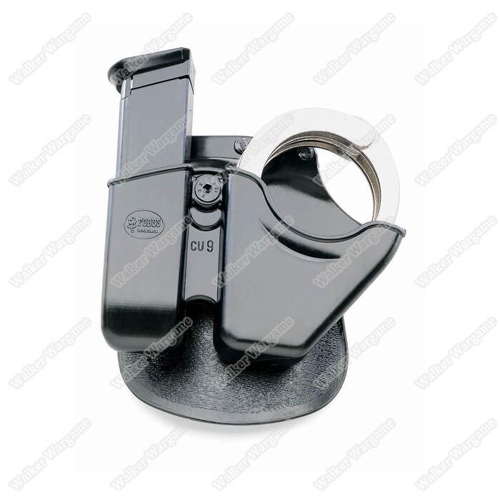 Fobus Handcuff / Mag Combo - 9mm & 40 Cal. Univ Dbl Stack CU9
