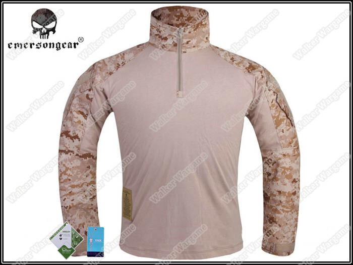 Emerson G3 Combat Shirt - NAVY SEAL AOR1 Digital Desert
