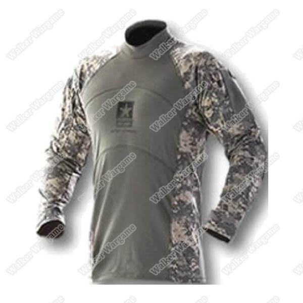 US Army ACS Combat Shirt - Digital Camo ACU