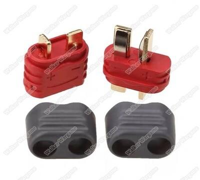 Amass DEAN XT Female Male Connectors T Plug Deans 2 Pin Bullet Sheath Housing Plug For Lipo Battery RC Parts