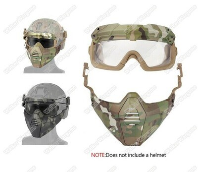FMA SF Goggle and Face Mask Protect System