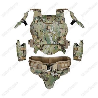 Juggernaut Multicam Armour Suit For Airsoft