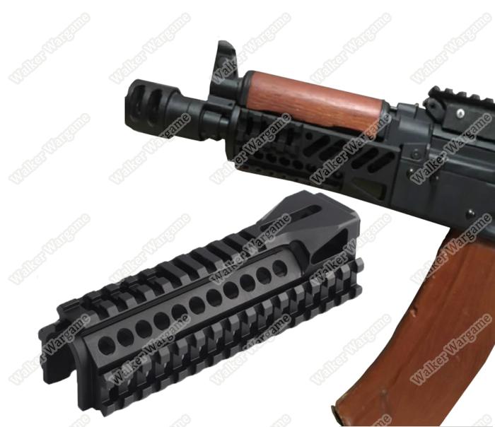 AK74 B-11 Lower Picatinny Handguard for Airsoft AK - Black