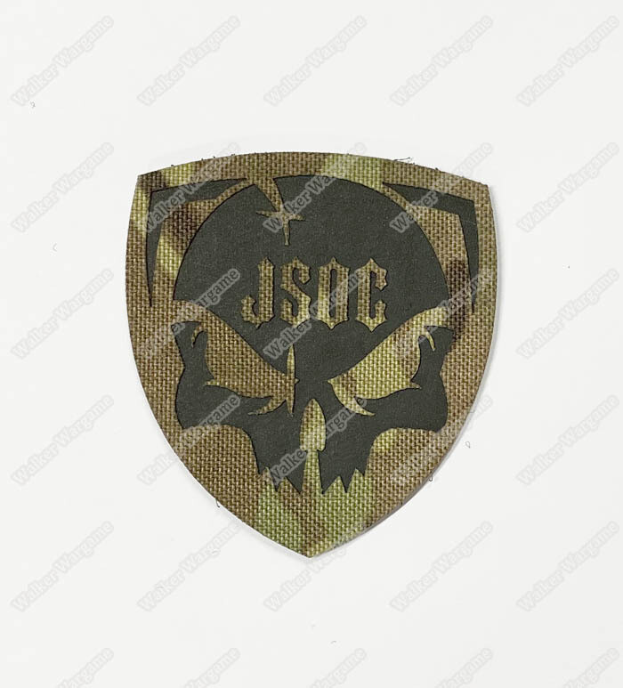 LWG034 JOSC US Joint Special Operations Command - Laser Cut Patch With Velcro