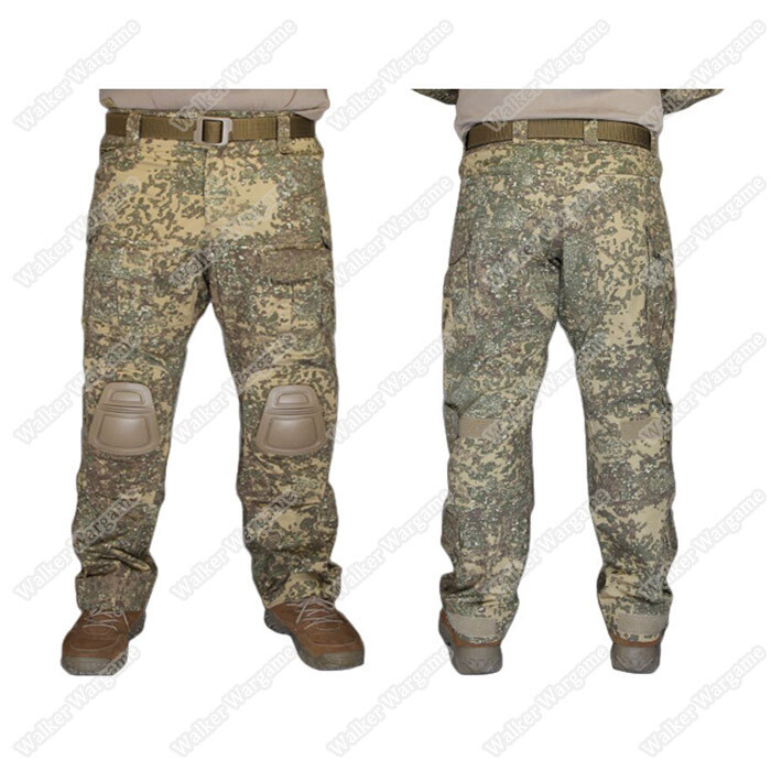 Combat Pants Build In Knee Pads - Special Force Badlands Camo BLD
