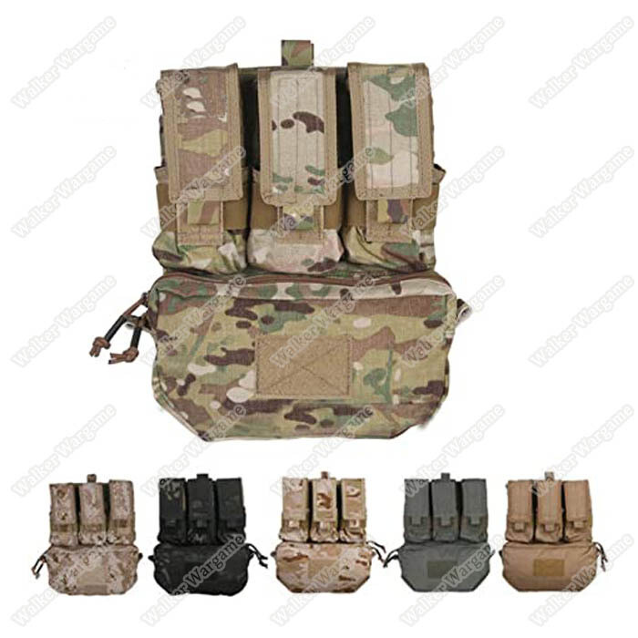 Emerson Back Panel Pouch For Molle Vest Fit 3 Mag and Hydration Water Bladder