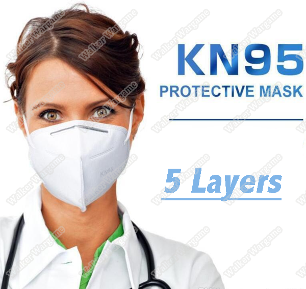 FFP2 KN95 Daily Protective Face Masks 5 Layers