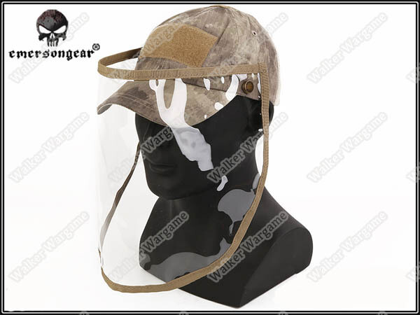 Emerson Baseball Cap With Face Shield - Speical Force AT Camo
