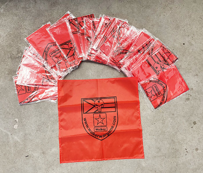 Airsoft Red Rags (Dead Rag or Kill Rags) Big size