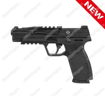 G&G Piranha TR Gas Blowback Pistol Black