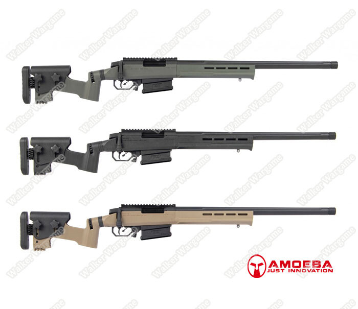 "Next Evolution - AMOEBA ""Striker"" Tactical 01 Sniper Rifle AST01 Airsoft"