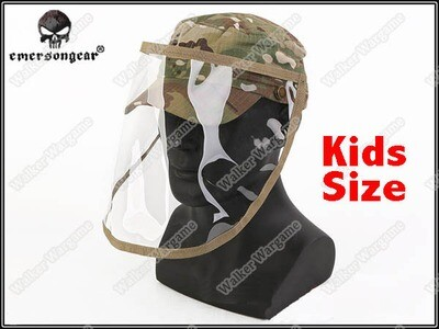 Emerson Kids Combat Cap With Face Shield - US Army Multicam
