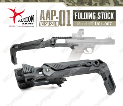 Actiom Army AAC AAP01 Folding Buttstock Roni Kit U01-007