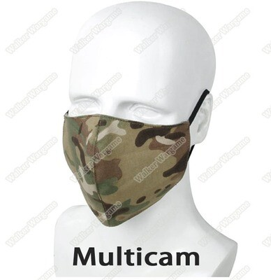 Tactical Knight Face Mask Washable  - Multicam  ( Protect Against COVID19 )