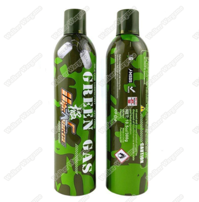 Ultra Force 8kg CamoGas FreezePoint Gas(Green Gas)For Airsoft Gas Pistol & Rifle - 300g
