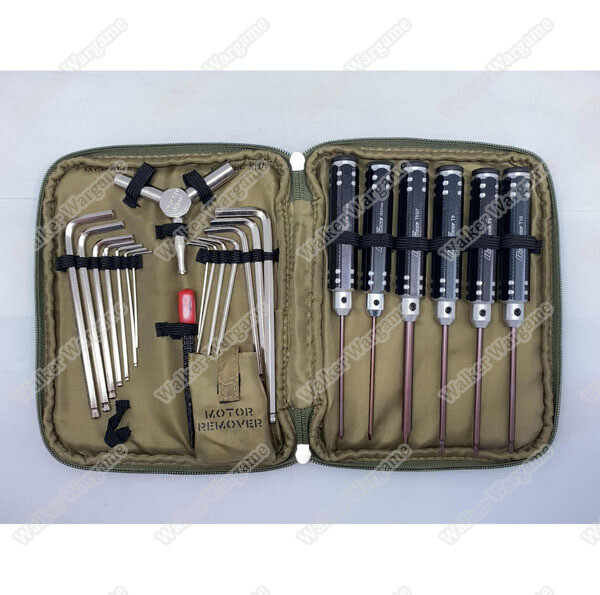Ultraforce Airsoft Tooling Kit 11 in 1 With Carry Bag