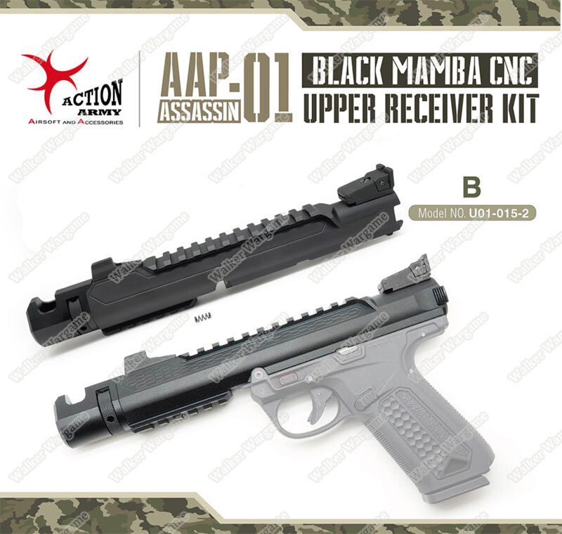 Action Army AAP01 Black Mamba CNC Upper Receiver Kit