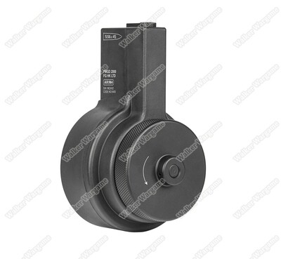 Ares Amoeba AR Style Drum Magazine 2150 rds Fit All M4 AEG