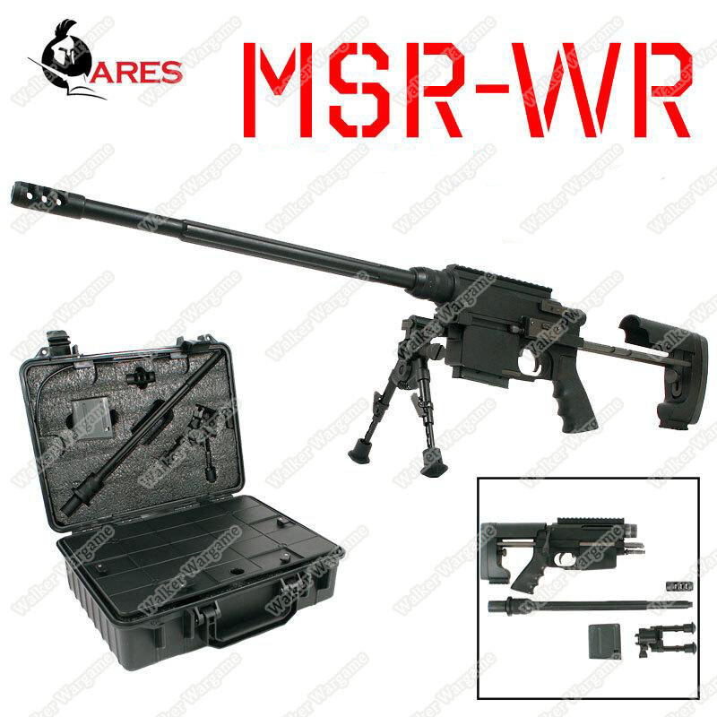 Ares MSR WR Bolt Action Spring Sniper Rifle (Fit Into Case)
