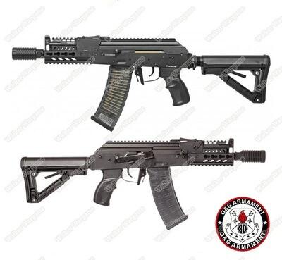 G&G Tactical RK74 CQB  KeyMod AK CQB AEG Airsoft Gun Build In ETU MOSFET - Black