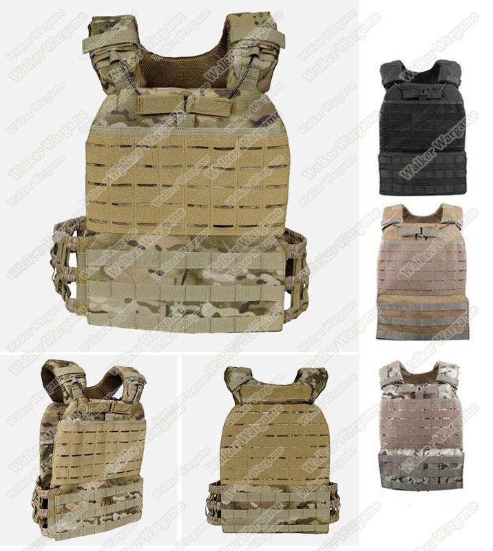 VE61 CrossFit Tactical Molle Plate Carrier Vest -  ,Black ,Tan ,Multicam