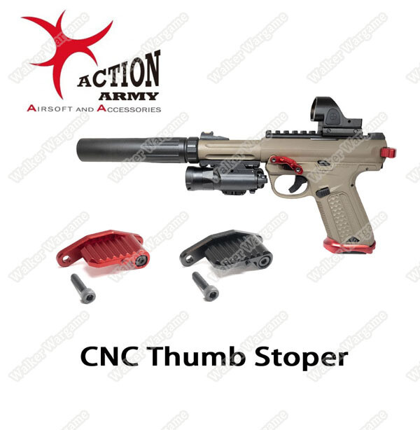 Action Army AAP01 Pistol Full CNC Thumb Stopper U01-008-1