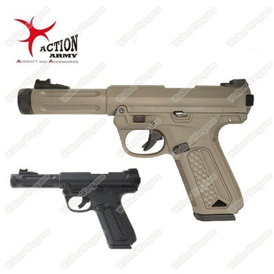 Action Army AAP01 Assassin Green Gas Pistol (Ruger Mark IV Style)