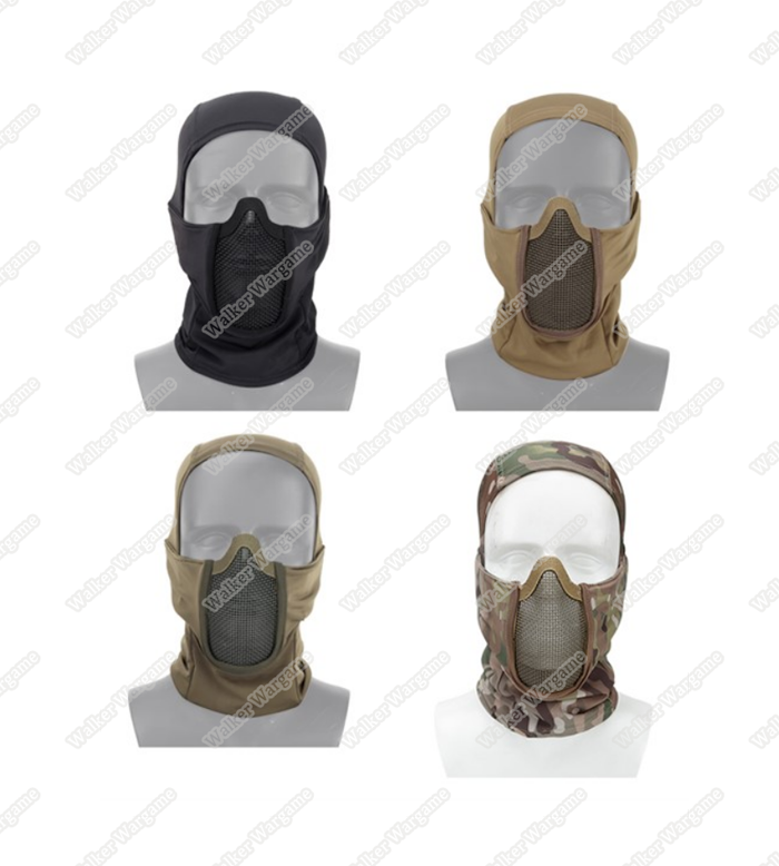 Shadow Fighter Balaclavas Headgear With Mesh Mouth Protector