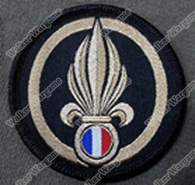 WG129 French Foreign Legion Patch With Velcro - Full Colour