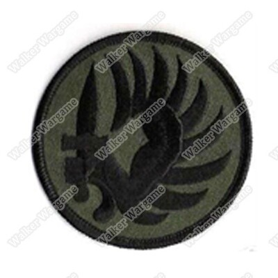 WG130 French Foreign Legion 2 REP COMMANDO Patch With Velcro - OD Green