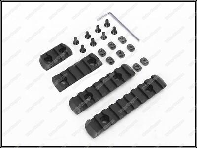 BD M Lok Rail Set Polymer Modular Rail For MLOK Handguard  4 Pieces
