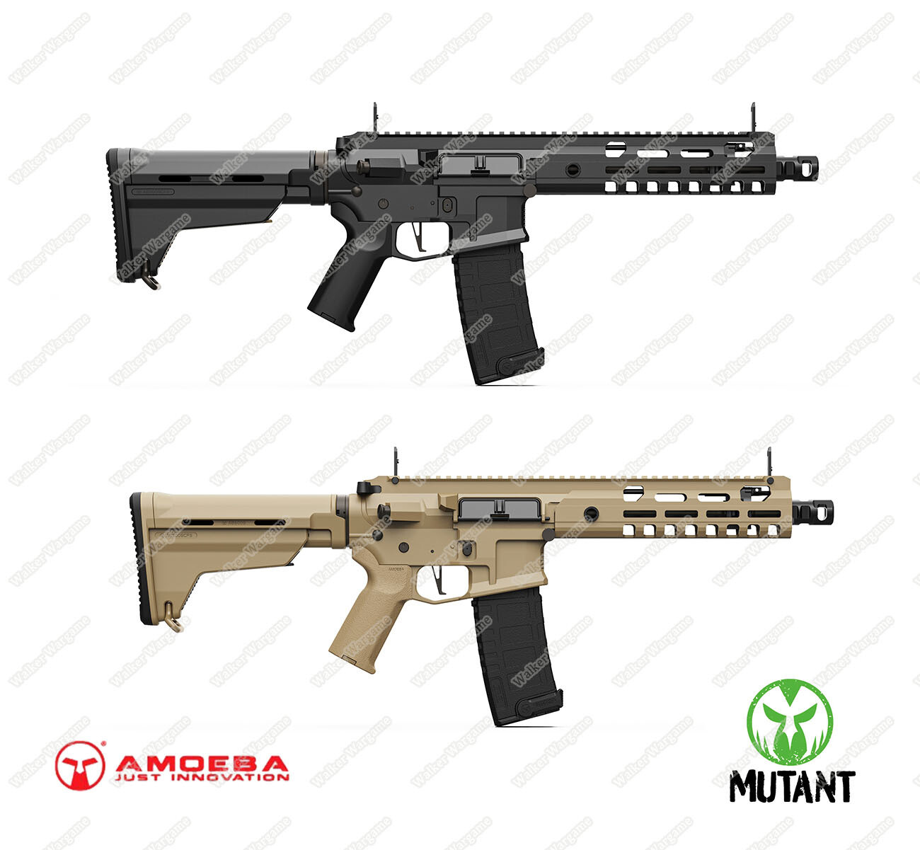 ARES Amoeba MIT AMM9 Mutant Series - AEG With E.F.C.S.