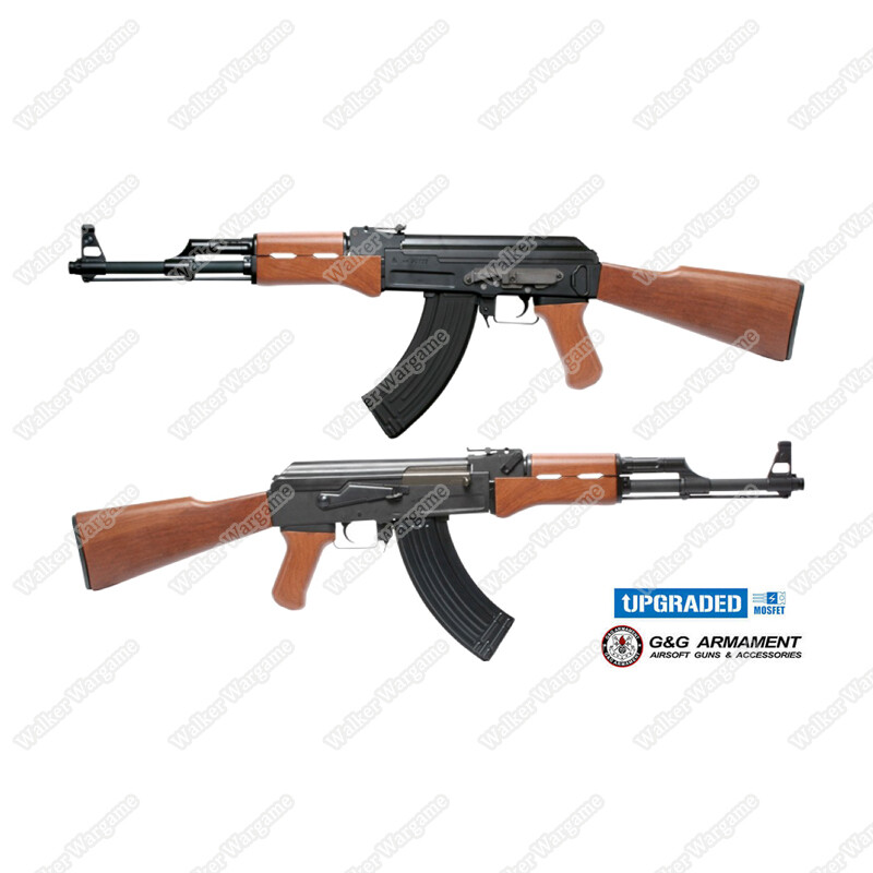 G&G CM47 AK47 IWS ETU AEG Airsoft Gun Build In ETU MOSFET