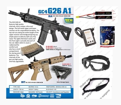 Airsoft AEG Starter Package - Now R4400.00 Save R1000.00
