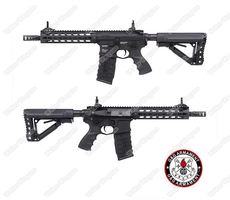 G&G GC16 Warthog 9incl Assault Rifle AEG-ETO Electronic Trigger Unit - Black