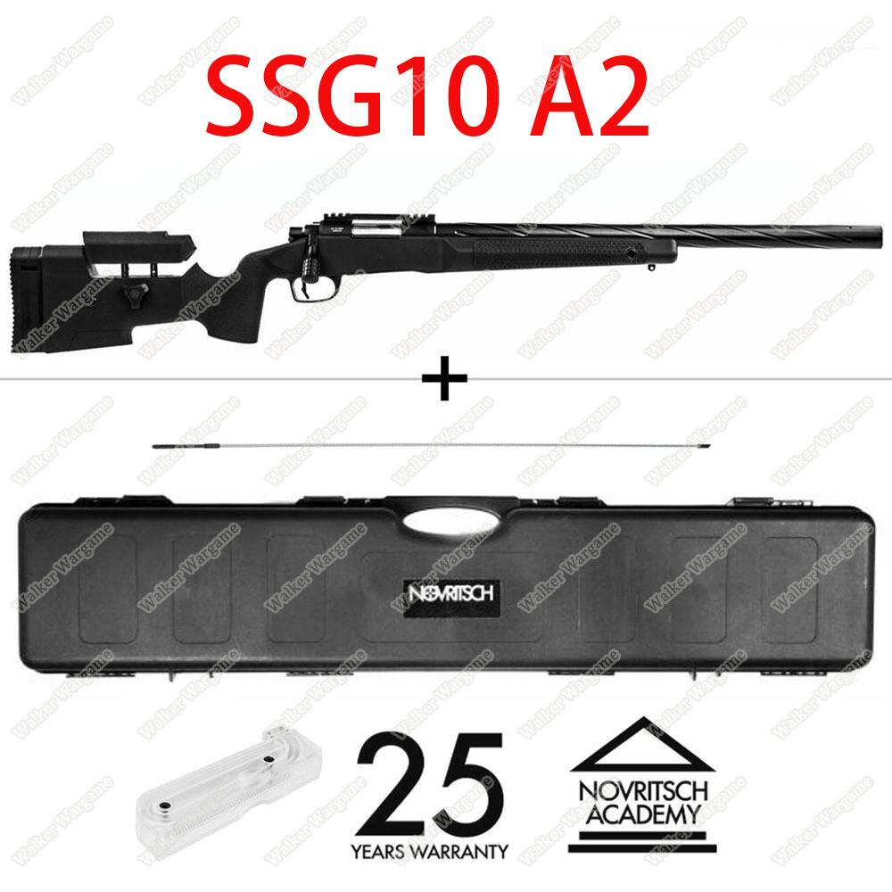 Novritsch SSG10 A2 Airsoft Sniper 2.2Joules  486fps M150 Spring