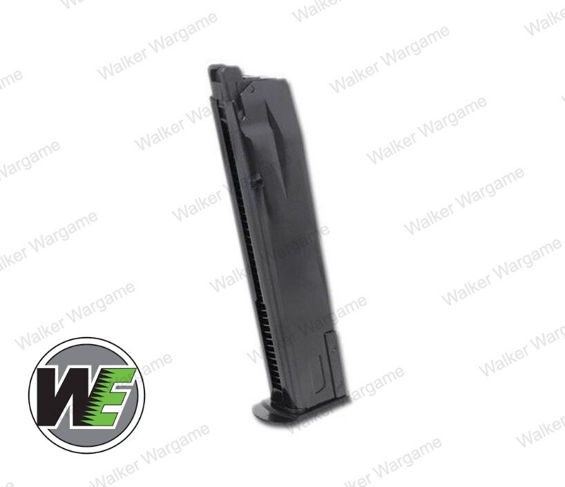 WE 30rds Full Metal Green Ga Mag for P226 / P-Virus Airsoft GBB Pistols