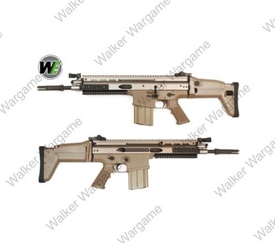 WE tech SCAR H FN Herstal MK17 Gas Blowback Airsoft Rifle