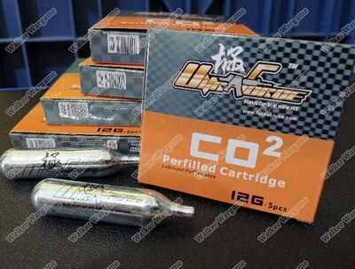 Ultraforce 12g Co2 Cartridge 55KG  (Co² Perfilled Cartage)